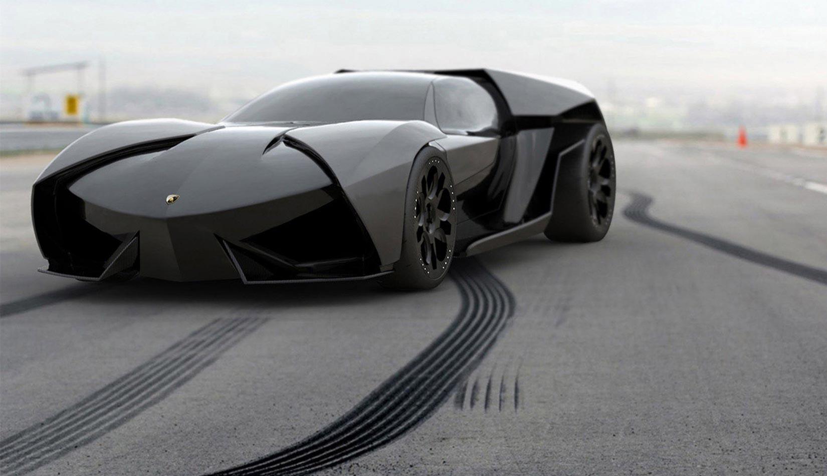Lamborghini Ankonian – Future Land Jet